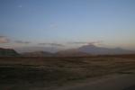 Le mont Ararat au loin